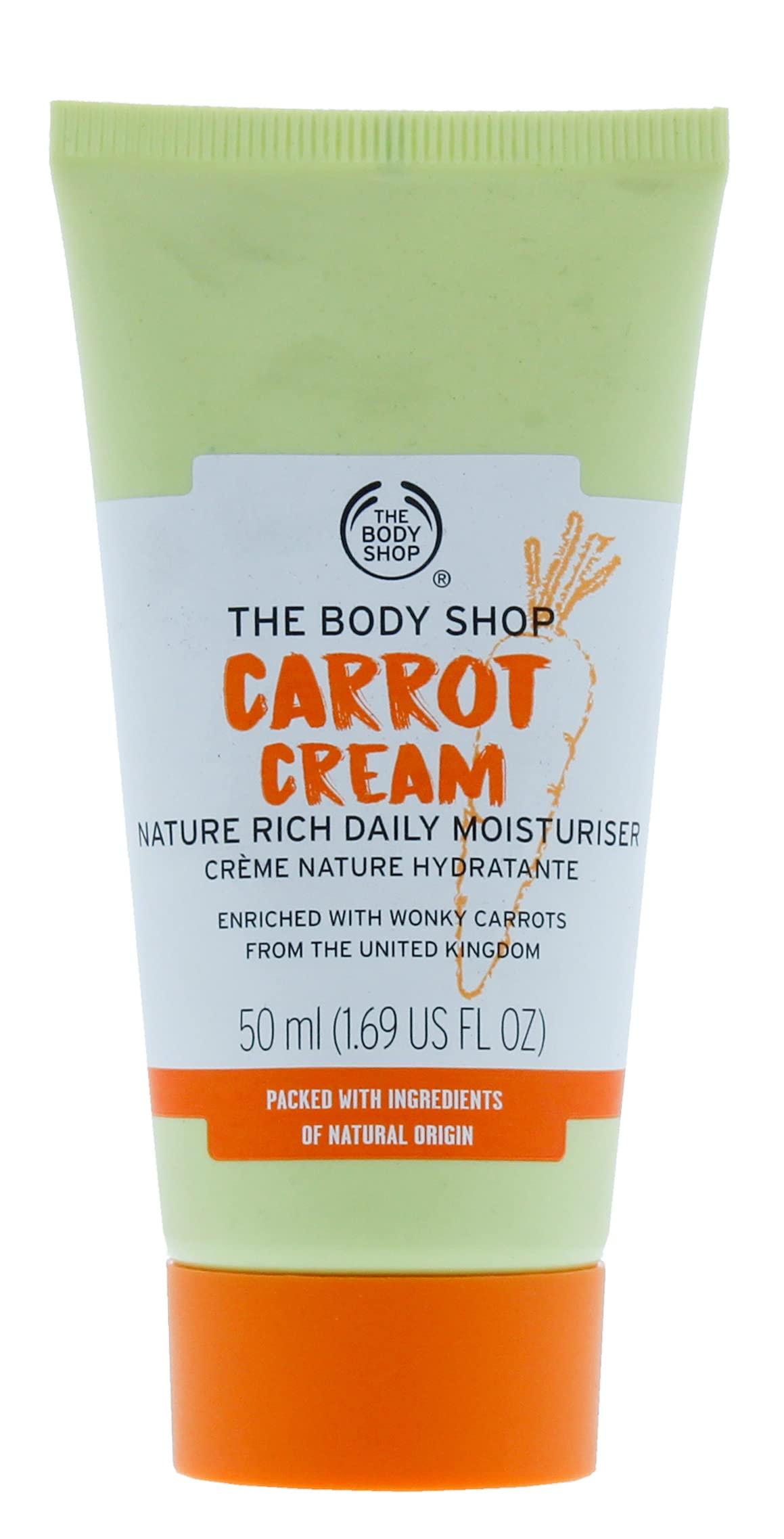 THE BODY SHOP 50Ml Moisturer Carrot Cream