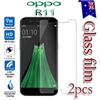 [2-Pack] For Oppo R11 Tempered Glass LCD Screen Protector Film Guard
