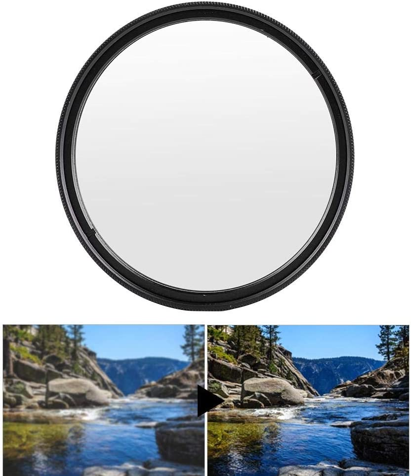 62mm Qiilu Camera Lens Univesal UV Filter Lens Ultra Slim Protecting Filters for DSLR Cameras