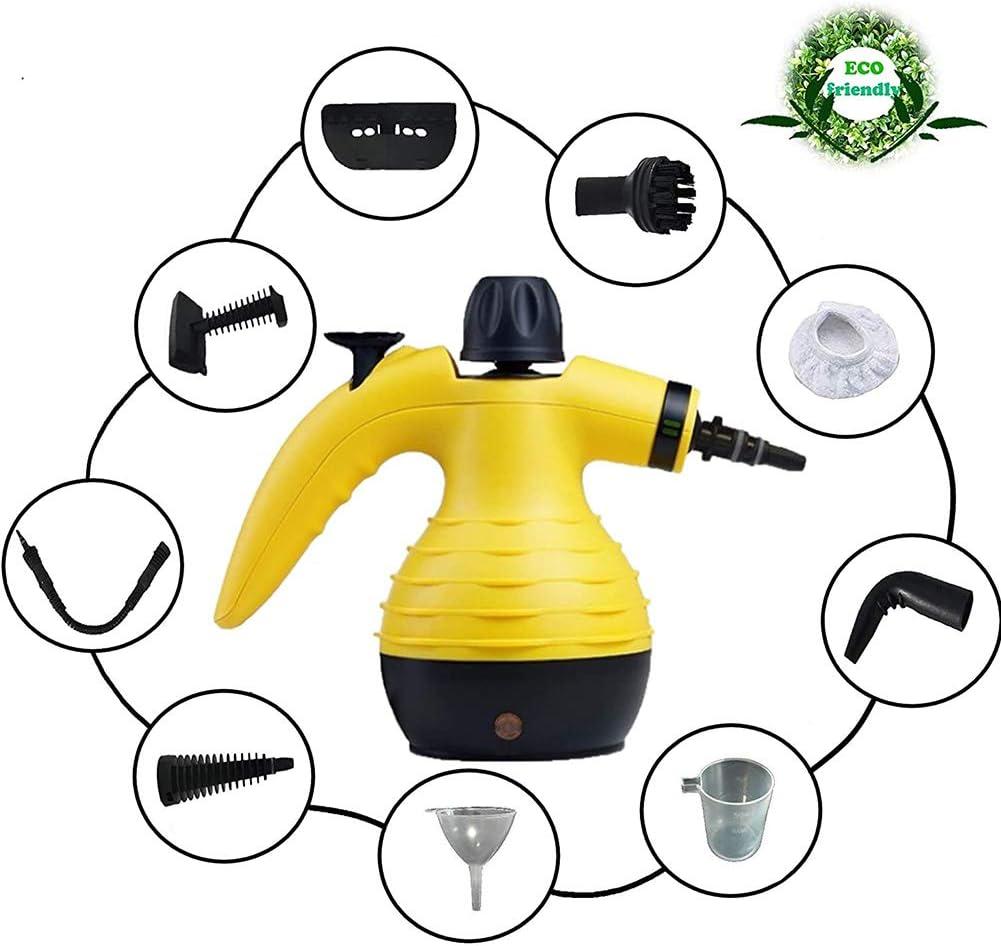 Dp-Light Máquinas manuales de Vapor, limpiadoras manuales de Vapor, limpiadoras de colchones, para escaleras, alfombras, Coches Interiores, etc: Amazon.es: Hogar
