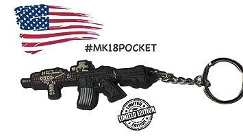 llavero Llavero militar MK18 edición limitada: Amazon.es ...