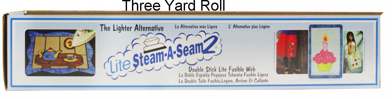 Warm Company Steam A Seam 2 Lite Fusible Web 24'' Wide 3-Yard Roll by Warm Company