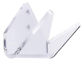 SKATLE 2.0 4boarder® Soporte de pared Soporte de pared para skateboard Longboard Pennyboard, vertical, horizontal, transparente