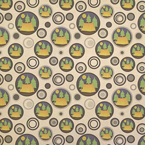 Tent Camping Wrapping Paper for these Fun Camping Wrapping Paper And Creative Gift Wrap Ideas
