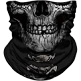 JOEYOUNG Face Mask Bandana, 3D Neck Gaiter, Motorcycle Headwear, Magic Scarf, Balaclava, Rave Mask, Tube Mask, Headband…