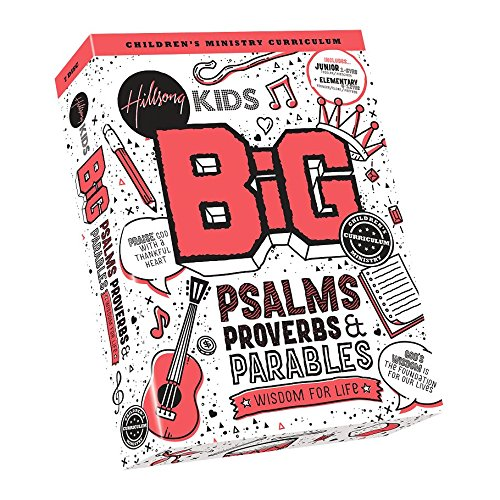 Kids BiG Psalms Proverbs & Parables Music CD