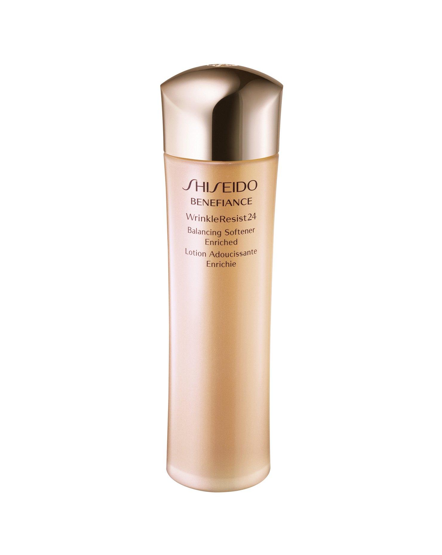Shiseido Benefiance Wrinkleresist24 Balancing Softener Enriched for Unisex, 5 Ounce