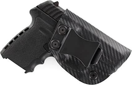 Safety Model Right Hand Black Kydex Inside the Waistband Holster SCCY CPX-1