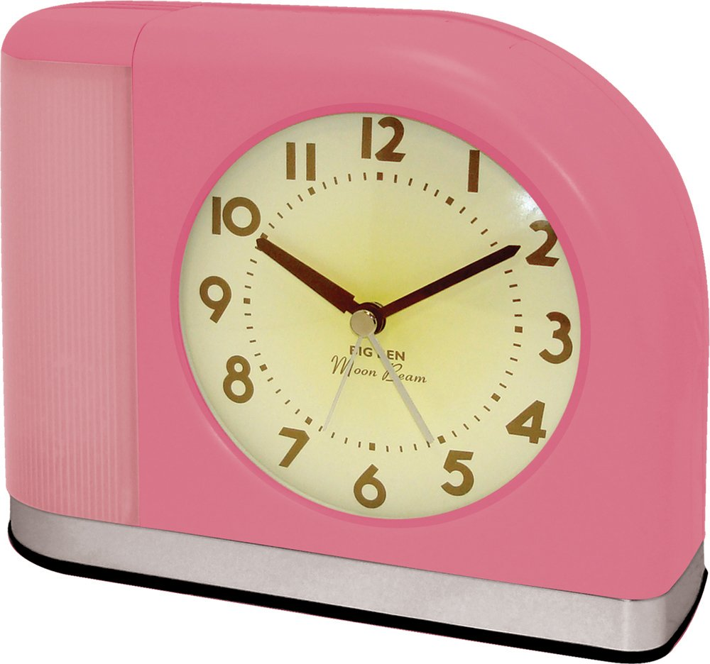 Amazon westclox 1950 big ben moonbeam pink alarm clock 43007x amazon westclox 1950 big ben moonbeam pink alarm clock 43007x home kitchen amipublicfo Image collections