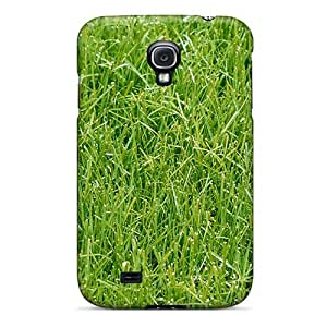 Cute Appearance Cover/tpu UjNWPnK5652LDLxu Green Grass Case For Galaxy S4