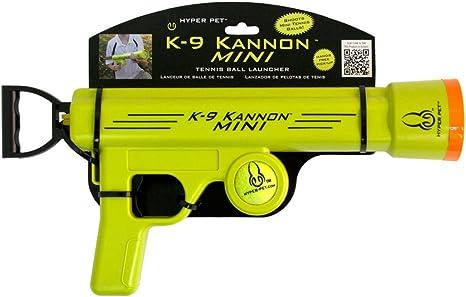 Pistola lanzadora de pelotas Hyper Pet K-9 Kannon Mini: Amazon.es ...