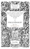 On Friendship, Michel de Montaigne, 0143036297