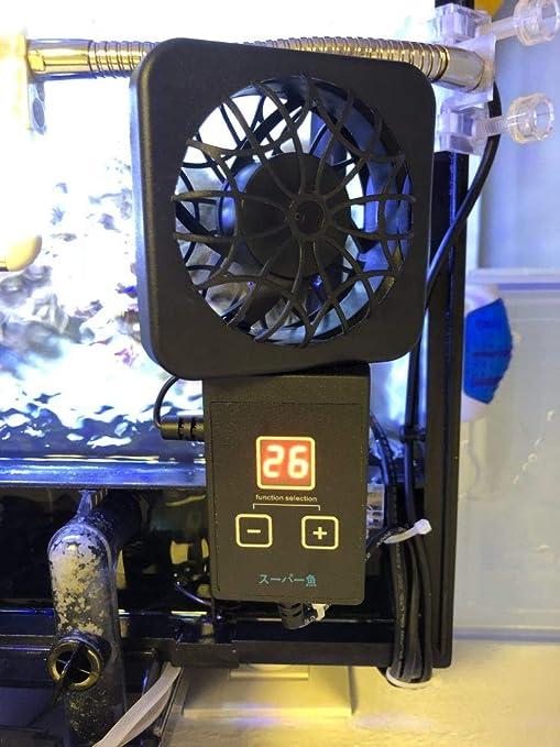 Ventilador Enfriador Programable para Acuario gambario.