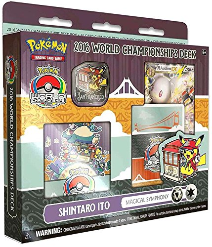 Pokemon 2016 World Championship Deck Shintaro Ito Magical Symphony Deck` (Pokemon Tcg World Championships)