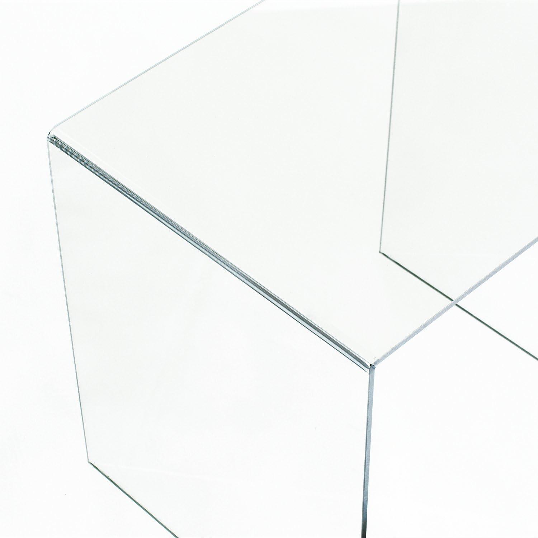 HOMCOM Mesa de Centro Nido mesita de te 5mm Tabla acrilico Comedor ...