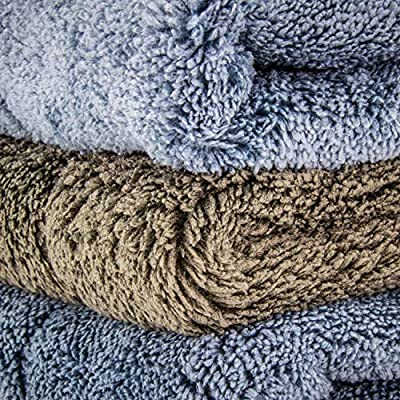 Relentless Drive The Ultimate Plush Microfiber Car Drying Towel Extra Thick Auto Detailing Towels - Professional Quality - 3 Pack: Automotive