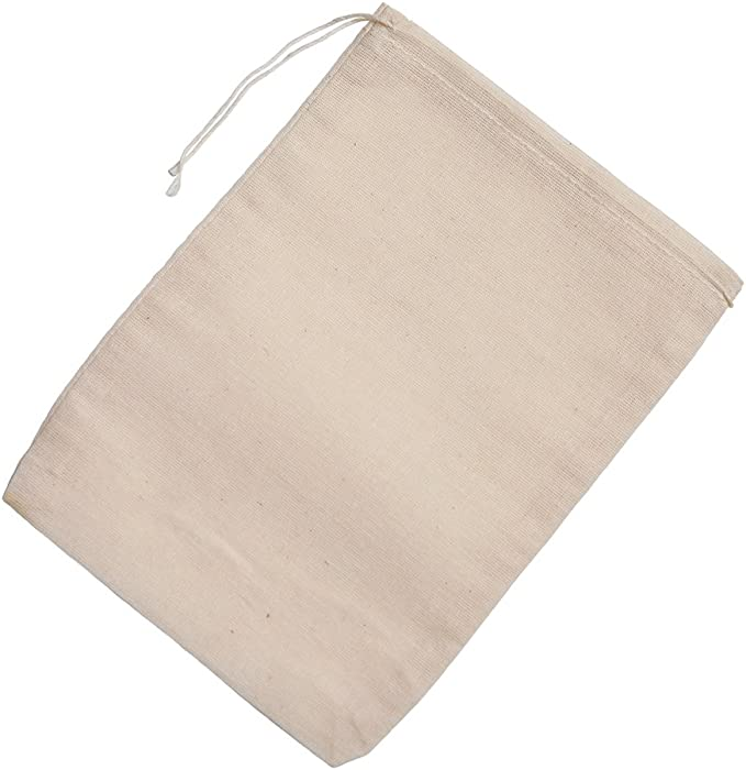 Double Drawstring Style More sizes Avail Muslin Bags 25 pcs of 10 x 16 SOFT Premium Muslin Bags