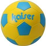 Kaiser(カイザー) ソフト サッカー ボール 3号 KW-227YSBL ボールネット付 レジャー ファミリースポーツ