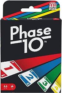 Mattel Games - Phase 10 (FFY05): Amazon.es: Juguetes y juegos