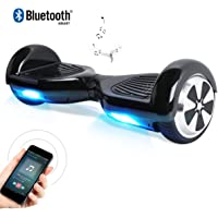 """Windgoo 6.5"""" Two Wheel Self Balancing Scooter with Built-in Bluetooth Speakers and Carry Bag"""