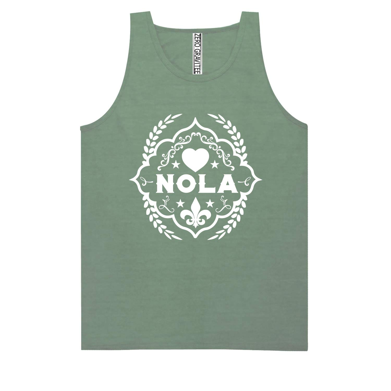 NOLA Adult Pigment Dye Tank Top