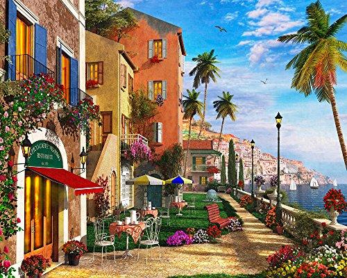 Mediterranean Terrace Jigsaw Puzzle 1000 Puzzle (Mediterranean Terrace)