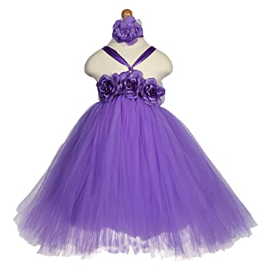 9c2b40c249 Cuts & Fits Purple Mixed Special Occasion Dress For Girls: Amazon.ae ...