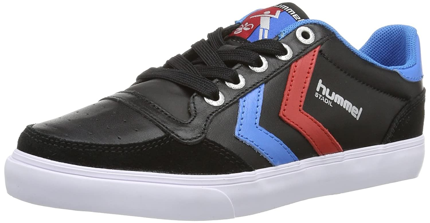Hummel Slimmer Stadil Duo Canvas Low, Zapatillas Unisex Adulto, Schwarz (Black), 36 EU