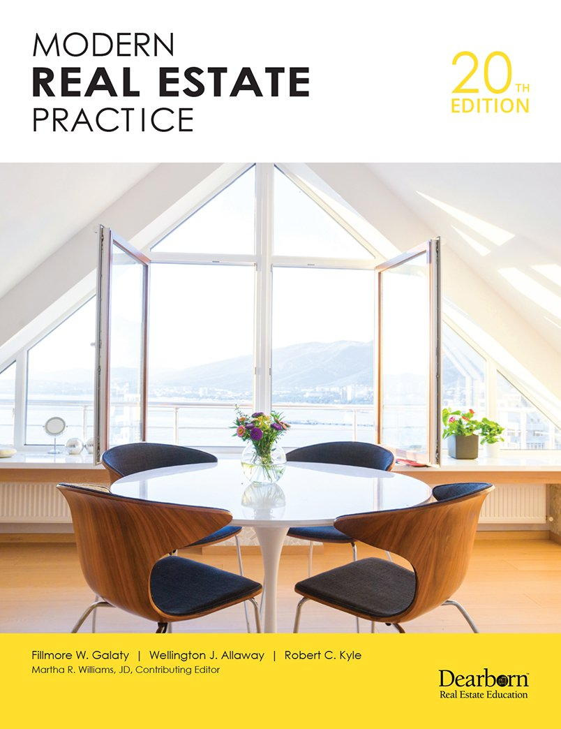 Modern Real Estate Practice by Dearborn Real Estate Education