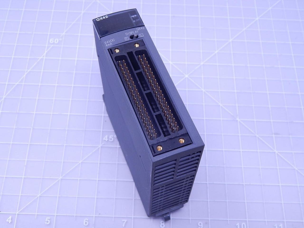 64 Points DC Positive Common MITSUBISHI ELECTRIC QX82 Input Modules NN Source