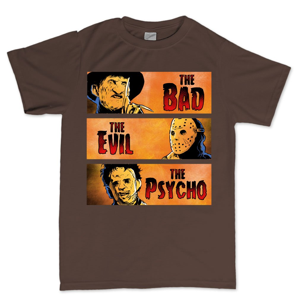 Halloween Bad Evil Psycho Party Costume T Shirt 5449