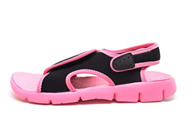 Nike Black Sunray Sport Sandals - Grade School Girls Size 5 US 4611cec3e