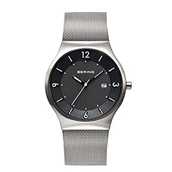 Amazon.com: BERING Time 14440-002 Mens Solar Collection Watch With ...