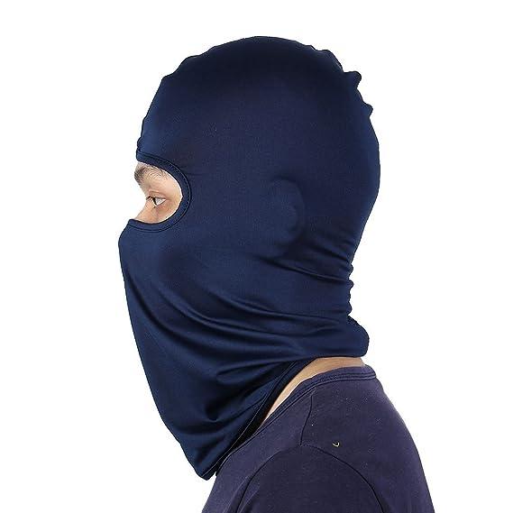 Amazon.com : eDealMax Lycra Ultra-delgada máscara de la motocicleta de ciclo completo Cuello de la cara Protección de Balaclava : Sports & Outdoors