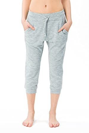 1805b8207e96 super. natural W Essential Crop Women's Trousers Merino Yoga Sportswear,  Womens, W ESSENTIAL