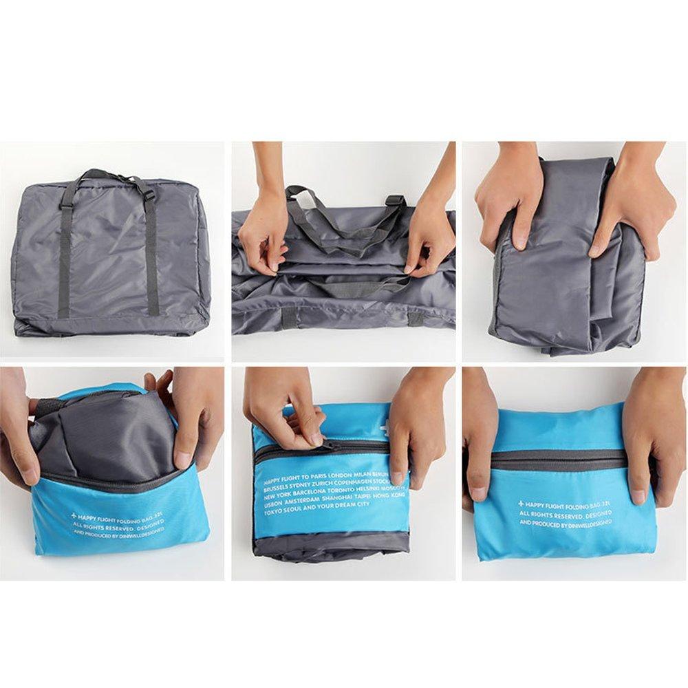 Travel Bag Lightweight Duffel Gym Bag Waterproof Foldable Portable Luggage Bag Men Women 32 L