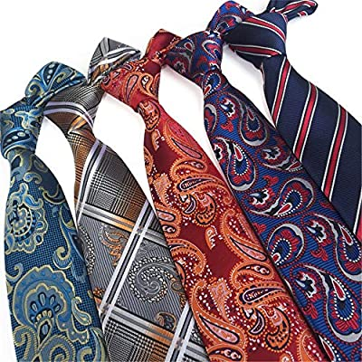 YYB-Tie Corbata Moda Poliéster, Textil, Corbatas para Hombres ...