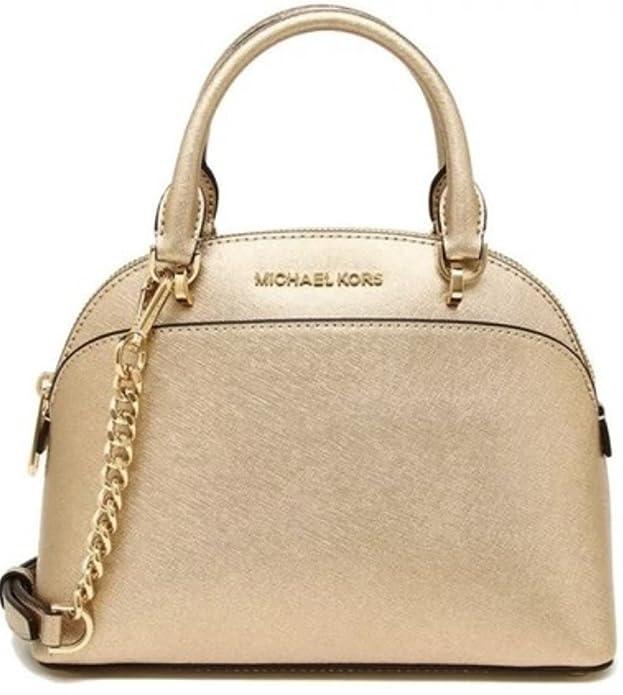 57b55824915819 MICHAEL Michael Kors EMMY Women's Shoulder Handbag LARGE DOME SATCHEL  (Ballet): Handbags: Amazon.com