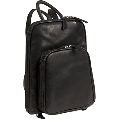 a2a795d19be7 Amazon.com  Osgoode Marley Cashmere Small Organizer Backpack (Black)  Shoes