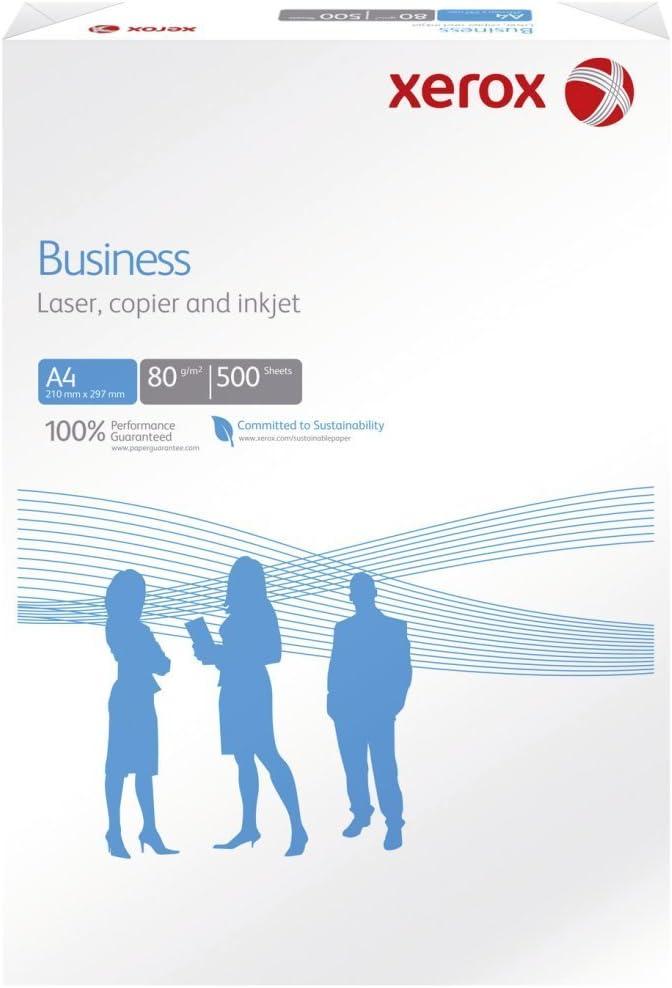 Xerox Business ECF/003r91820 Papel para fotocopiadora (DIN A4, 80 g/m2 pack de 500 hojas: Amazon.es: Oficina y papelería