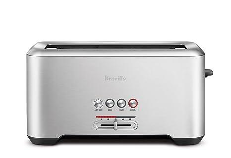 Amazon.com: Tostadora Breville BTA720XL The Bit More Toaster ...