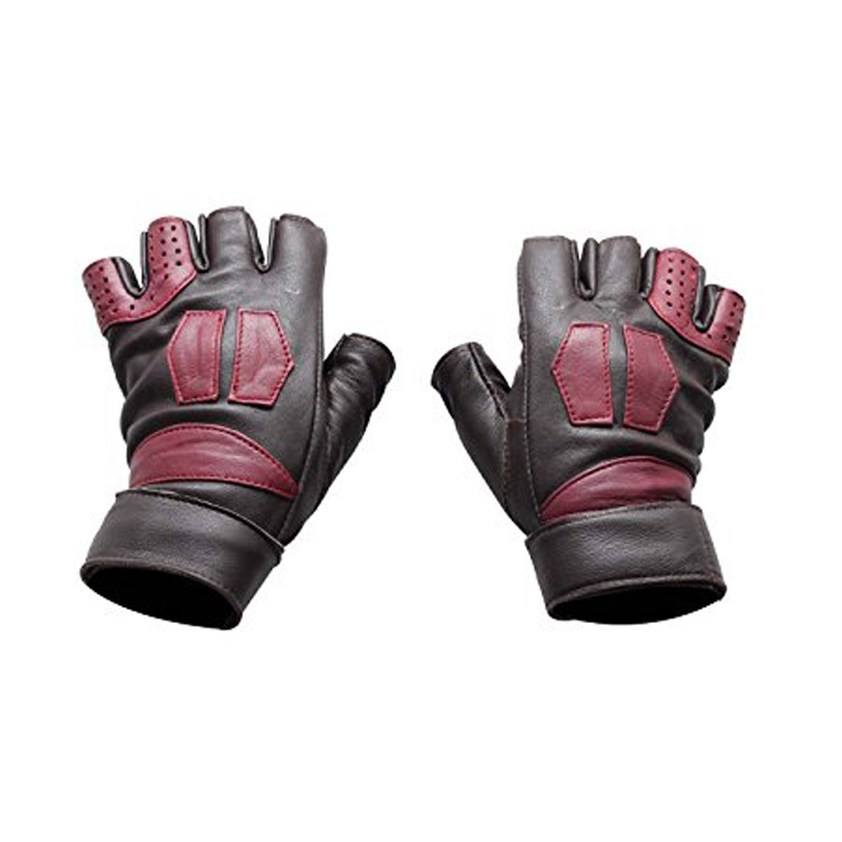 Guardians of the Galaxy Vol 2 Star-Lord Brown Leather Costume Gloves