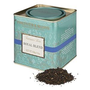 Fortnum & Mason British Tea, Royal Blend, 250g Loose English Tea in a Gift Tin Caddy