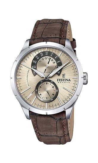 Festina Reloj de Pulsera F16573 9  Amazon.es  Relojes 8ebd81303224