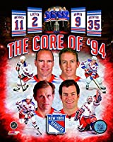 New York Rangers Core Of '94 Mark Messier, Mike Richter, Adam Graves, and Brian Leetch 8x10 Photo collage
