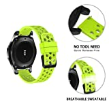 YJYdada Silicone Bracelet Strap Watch Band for