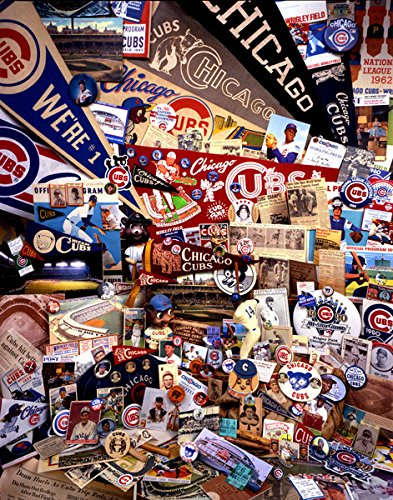 Gango Home Décor Chicago Cubs Mementos I, Fine Art Photograph by: David Spindel; One 22x28in Fine Art Paper Giclee Print
