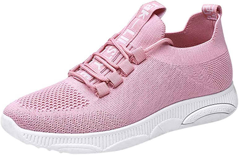 Damen Sportschuhe Laufschuhe Bequem Mesh Schuhe Walk Sneaker Turnschuhe Freizeit