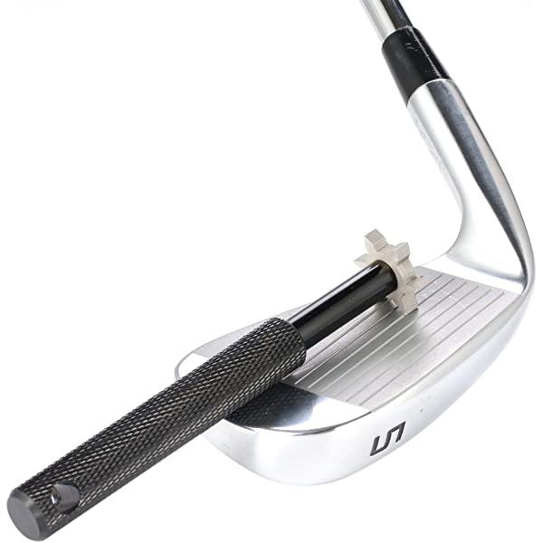 Amazon.com : Golf Club Groove Sharpener with 6 Heads - Ideal ...