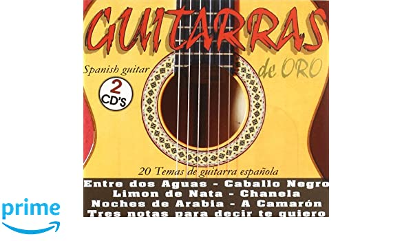 Guitarras De Oro : Various : Amazon.es: Música